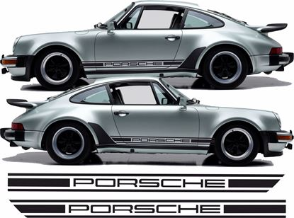 Picture of Porsche 930  side Stripes / Stickers