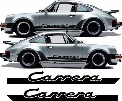 """Picture of Porsche 930 """"Carrera"""" side Stripes / Stickers"""