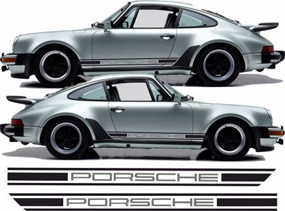 Picture of Porsche 930 Two colour side Stripes / Stickers