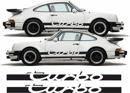 "Picture of Porsche 930 ""Turbo"" side Stripes / Stickers"