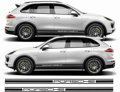 Picture of Porsche Cayenne  / S side stripes / Stickers