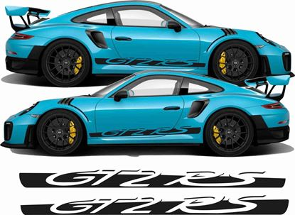Picture of Porsche 991 GT2 RS  side Stripes / Stickers