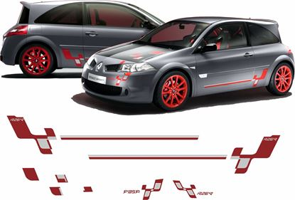 Picture of Renault Megane R26R Decals / Stickers full kit
