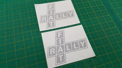 Picture of Fiat classic Decals / Stickers
