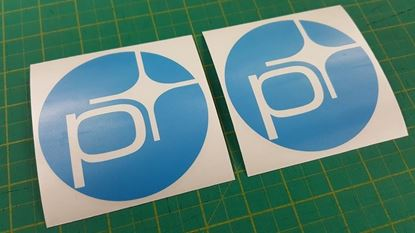 "Picture of Volvo ""Polestar"" Decals / Stickers"
