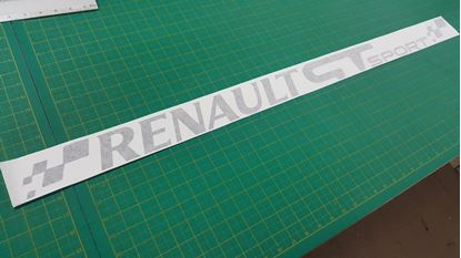 Picture of Renault  GT Sport windscreen  Decal / Sticker