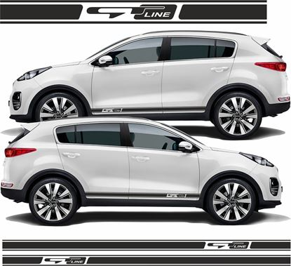 Picture of Kia Sportage GT Line side Stripes / Stickers