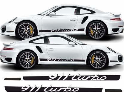 Picture of Porsche 911 / 991 Turbo side Stripes / Stickers