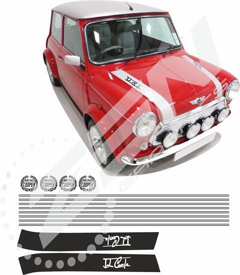 Zen Graphics Classic Mini Cooper Full Restoration Decals Pin