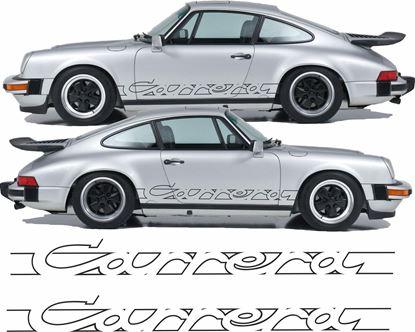Picture of Porsche 930 Carrera  side Script  Stickers / Decals