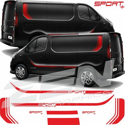 Picture of Renault Trafic Full Graphics kit - Sport+