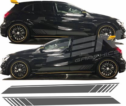 Picture of Mercedes A Class / A45 AMG Side stripes / Stickers
