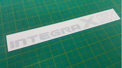 Picture of Honda Integra xsI da6 1990 - 1993 replacement rear Decal / Sticker