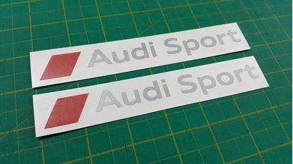 "Picture of ""Audi Sport"" Decals / Stickers"