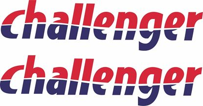 "Picture of ""Challenger"" panel  Decals  / Stickers"