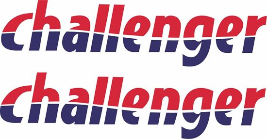 """Picture of """"Challenger"""" panel  Decals  / Stickers"""
