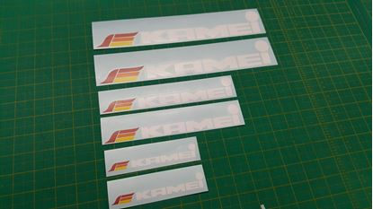 Picture of Kamei Decals / Sticker  set