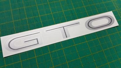 Picture of Mitsubishi GTO 3000GT 1990 - 2000 VR4 Replacement Decal / Sticker