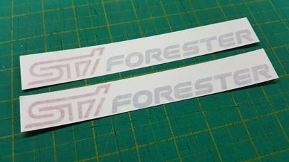 Picture of Subaru Forester Decals / Stickers