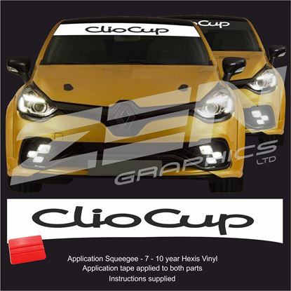 "Picture of ""Clio Cup  Sunstrip  / Sticker"