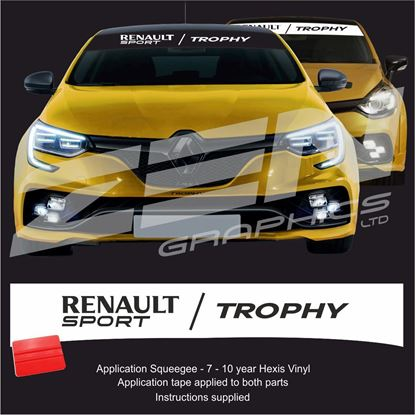 "Picture of ""Renault Sport Trophy"" Sunstrip  / Sticker"