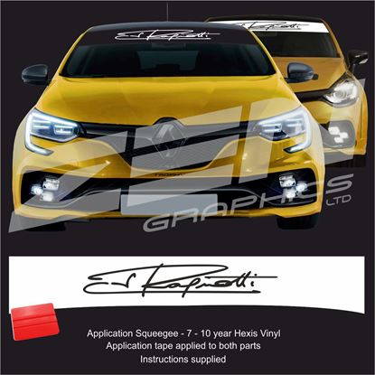 "Picture of ""Jean Ragnotti""  Sunstrip  / Sticker"