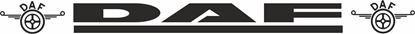 "Picture of DAF XF / CF  ""DAF"" Windscreen / Panel  Decal / Sticker"