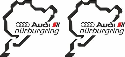 Picture of Audi S Line / S / RS  Nurburgring Decals  / Stickers