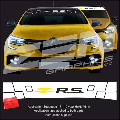 "Picture of ""R.S."" Sunstrip  / Sticker"