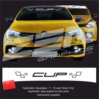 "Picture of ""Cup"" Sunstrip  / Sticker"