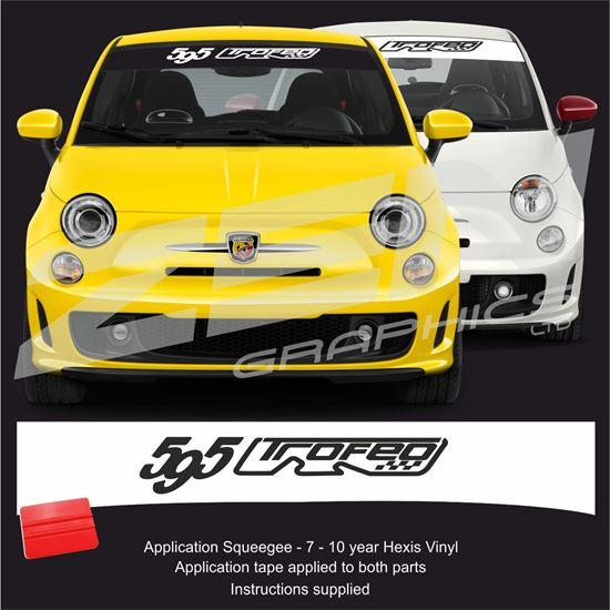 """Picture of """"595 Trofeo"""" Sunstrip  / Sticker"""