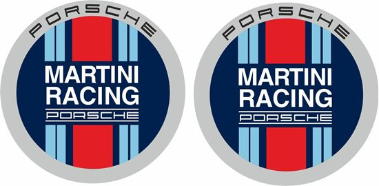 Picture of Porsche Martini Racing Decals / Stickers