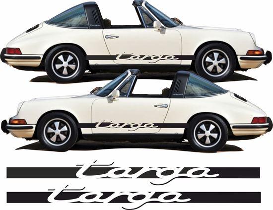 "Picture of Porsche 911 ""Targa""  side Stripes / Stickers - copy"