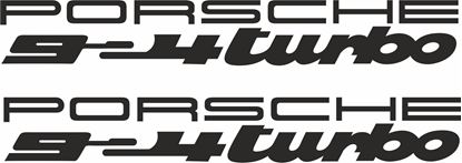Picture of Porsche  924 Turbo  decals /stickers