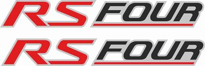 "Picture of Nissan Stagea ""RS Four"" replacement  Decals / Stickers"