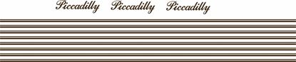 """Picture of Mini replacement side & rear """"Picadilly"""" Decals and Stripes"""