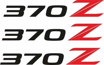 Picture of Nissan 370Z Decals / Stickers
