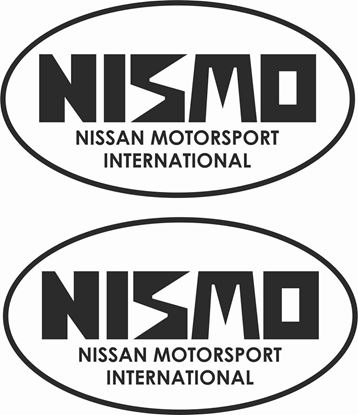 "Picture of ""Nismo Nissan"" Motorsport International""   Decals / Stickers"