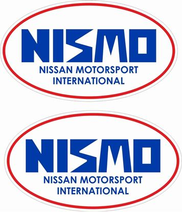 "Picture of ""Nismo Nissan Motorsport International""   Decals / Stickers"