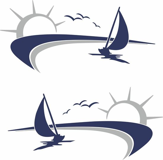 Picture of Sailing Boat  General panel Decals / Stickers