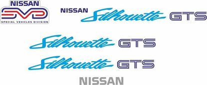 Picture of Nissan R31 Skyline Silhouette GTS Series 1 SVD  full restoration  Decals / Stickers  set