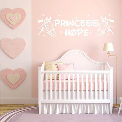 "Picture of ""Princess..."" Wall Art sticker"