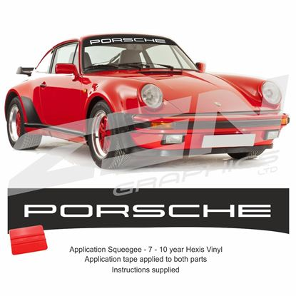 "Picture of 911 G  ""Porsche"" Sunstrip  / Sticker"