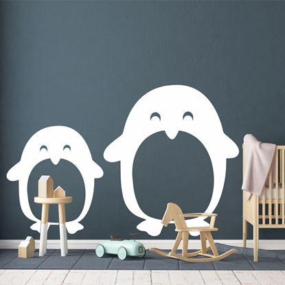 "Picture of ""Penguins"" Wall Art sticker"