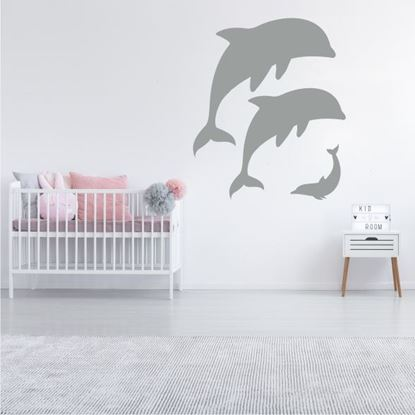 "Picture of ""Dolphins"" Wall Art sticker"