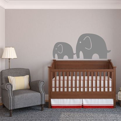 """Picture of """"Elephants"""" Wall Art sticker"""