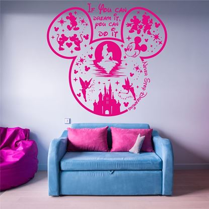 "Picture of ""If you can dream it you can do it"" Wall Art sticker"