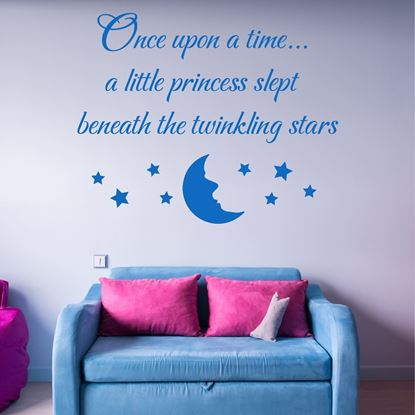 "Picture of ""Once upon a time..."" Wall Art sticker"