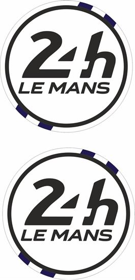 Picture of Scotland Le Mans 24hr Racing general panel / Mirror cover Decals / Stickers