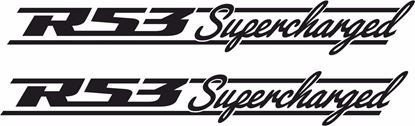 "Picture of Mini  ""R53 Supercharged"" Decals / Stickers"